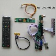 """TV HDMI AV VGA USB RF LCD Scheda Controller LED carta di Kit FAI DA TE Per 17.0 """"LTN170X2 L02 1440x900 pannello di visualizzazione del Monitor"""