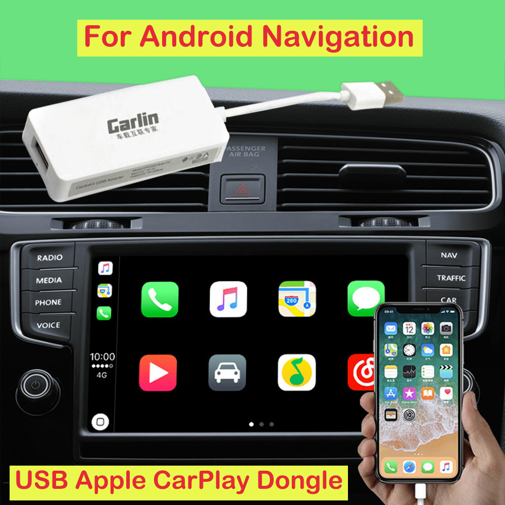 Mini Smart Link USB Bluetooth Dongle Car Navigation Player Black Carplay for Apple iOS CarPlay Android Car Player Car Styling carlinke usb apple carplay dongle for android auto iphone ios11 carplay support android mtk wince system car navigation player