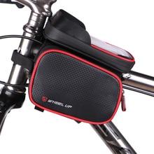 SAVA 6.2 сумка для велосипеда  Дюймов водонепроницаемый телефон с сенсорным экраном мешки велосипед велоспорт сумка передняя рама верхняя труба аксессуары для велосипеда Для Дорожного MTB Mountain велосипед 2016(China (Mainland))