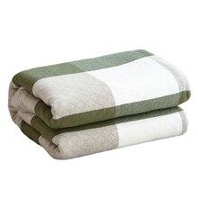 Хлопковое одеяло в японском стиле, хлопковое покрывало для двойной кровати, летнее одеяло, мягкое одеяло для взрослых, двуспальное, королевское, размер, для пары, покрывало на кровать