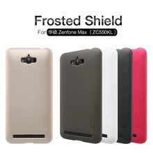 2017 NILLKIN Super Frosted Shield hard case cover For Asus ZenFone Max ZC550KL phone skin cases+ screen protector