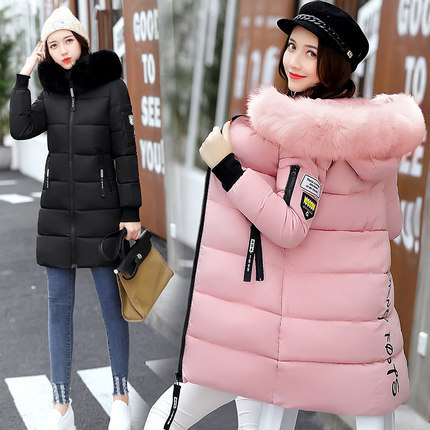 Fur Hooded Quilted Parka
