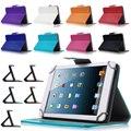 La cubierta de cuero para asus fonepad 7 fe375cg 7 ''universal tablet cases para samsung galaxy tab4 t230 s2c43d