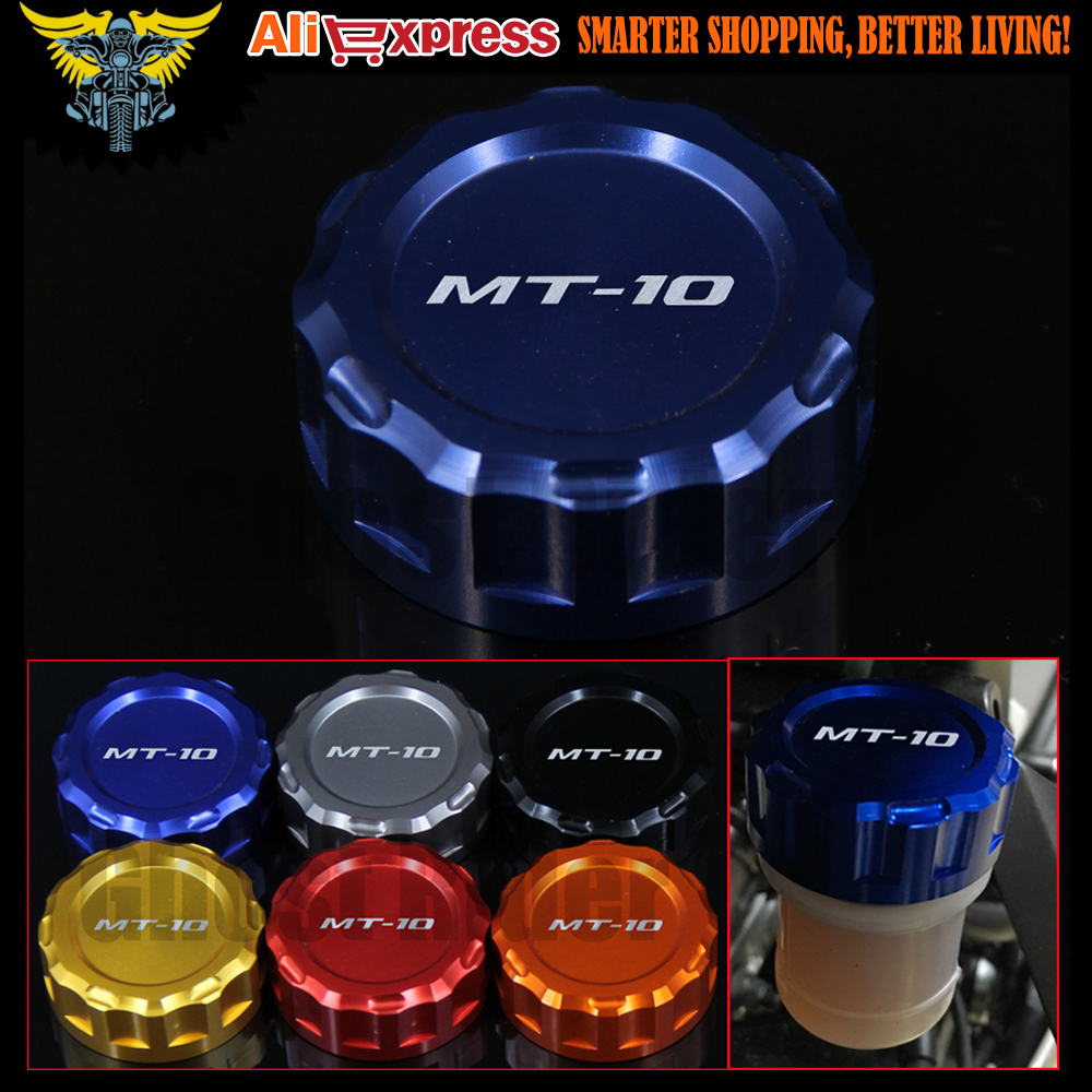 Hot sales High Quality Motorcycle CNC Rear Brake Reservoir Cover Cap For Yamaha MT-10 2016