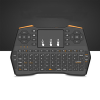 2.4GHz Wireless Fly Air Mouse Mini Keyboard Combo Multifunction Game Control Smart Touchpad for Computer Android TV Box HTPC