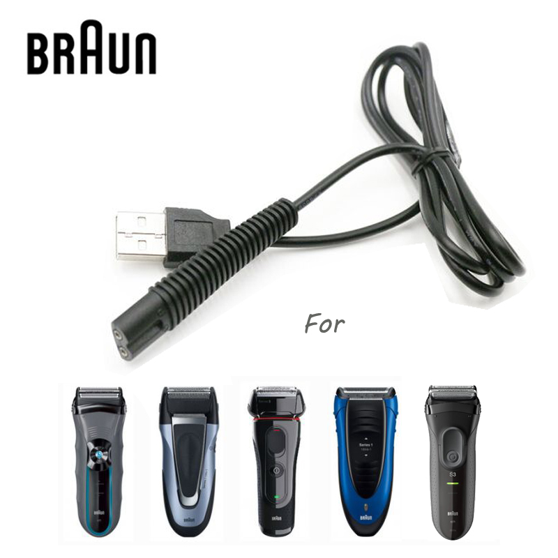 General Power Line Charging For Braun Most Series Of Shavers USB Connector Fast Full-Charging To Braun Electric Shaver Charger
