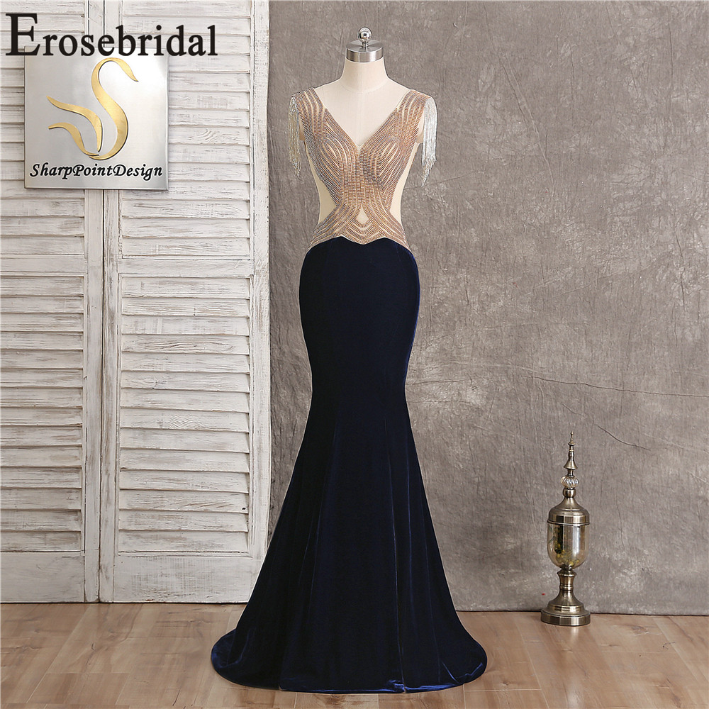Sexy Front Split Long Evening Dresses 2019 Occasion Dresses For Women Long Dress Evening Elegant Long Gown