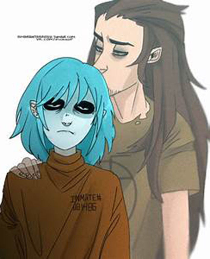Sallyface Larry 70cm Long Slicked-back Brown Mixed Heat Resistant Hair Cosplay Costume Wig + Track + Wig Cap