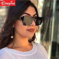 Moda Kobiet Okularów Przeciwsłonecznych Ponad rozmiar Luksusowy Gatunku Projektanta okulary Słoneczne Odcienie UV400 Okulary ładny Kolor darmowa wysyłka