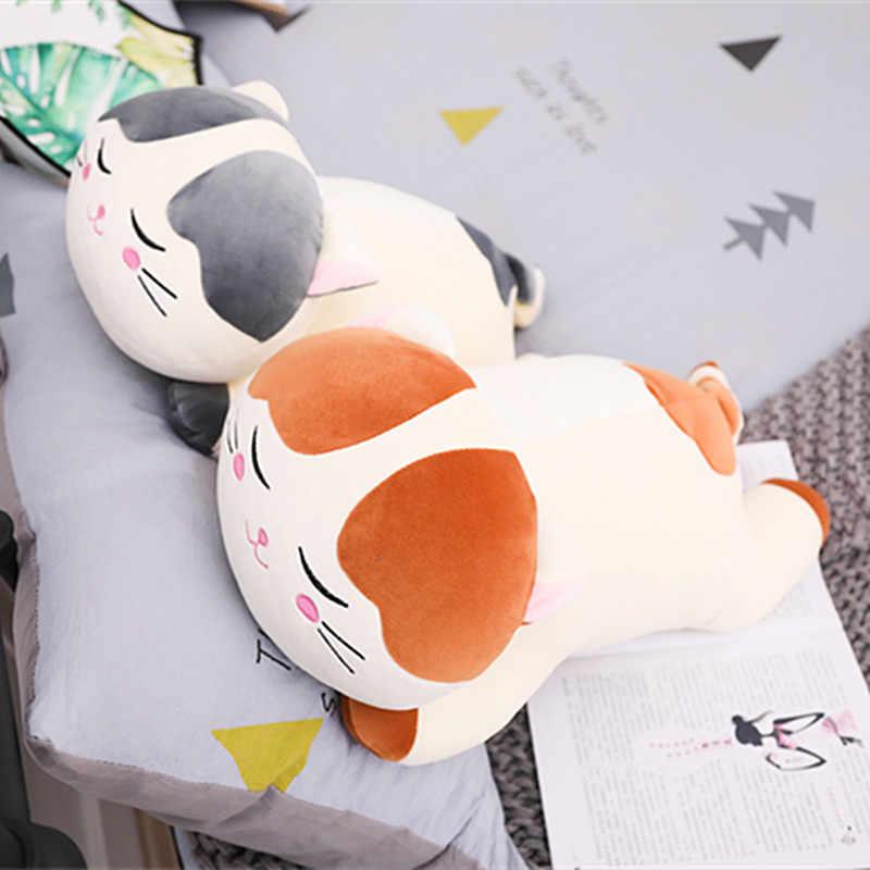 Baru Natal Plush Kucing Mainan untuk Anak Boneka Lembut Turun Katun Bantal Kartun Hewan Bayi Boneka Hadiah Ulang Tahun