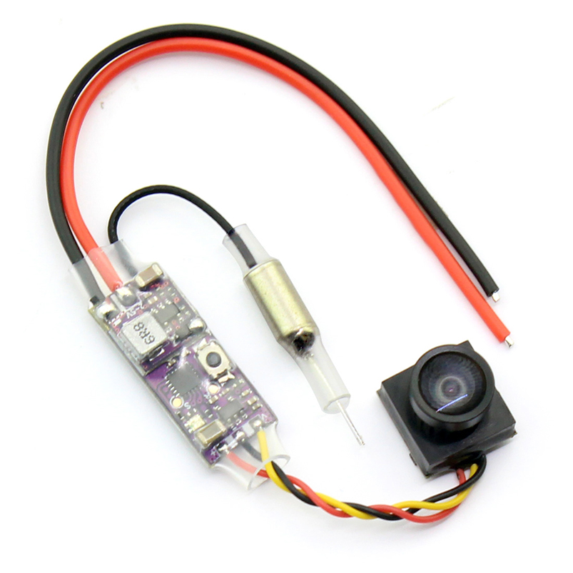 Q25 MINI V2 800tvl VTX+CAMERA 25mw 16CH Transmitter coms Camera for 90GT Super Mini FPV Drone F19938