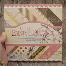 7x7inch Vintage Scrapbooking Paper Pad Origami Art Background Card Making Craft
