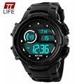 TTLIFE Relógios Desportivos de luxo Homens Do Exército Militar LED relógios de Pulso dos homens Digital Watch Relojes Relogio masculino