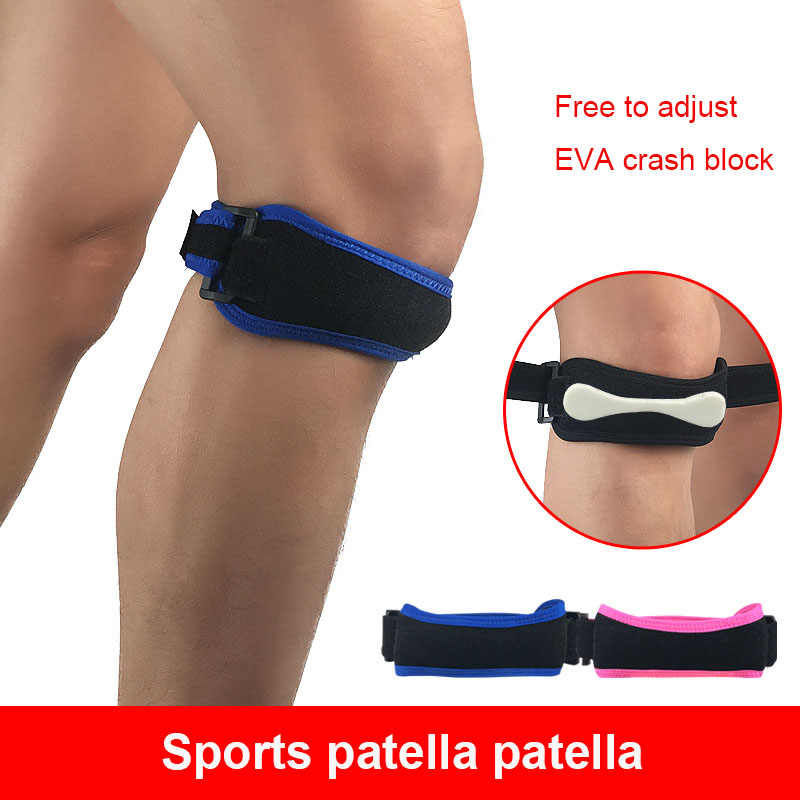 new  Sport Gym Patella Tendon Knee Support Strap Brace Pad Band Protector WD