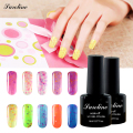 Saroline Cheese bluesky colors Candy UV Gel Nail Polish Soak Off  LED Nail Art Base Top Coat New Needed Gel Varnish
