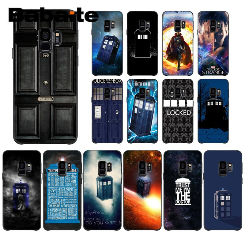 Half-wrapped Case Phone Bags & Cases Buy Cheap Babaite Doctor Who Luxury Unique Design Phone Case For Samsung Galaxy J8 J7 J2pro J4 J4 Puls J6 J7duo Fundas Capa 100% Original