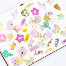 100pcs/lot Dream Hand account stickers diary DIY decoration ablum scrapbooking label sticker kawaii stationery