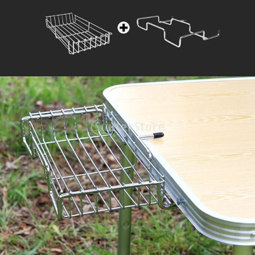 Stainless Steel Picnic Bbq Table Portable Trash Bag Holder Hanger With Grid Frame Outdoor Camping Hiking In Stoves From Sports Entertainment On