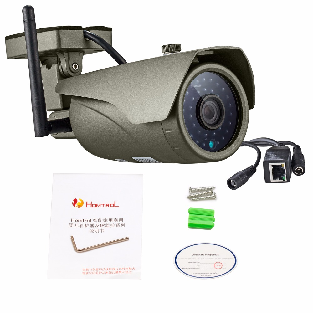 KERUI Valós idejű megtekintési WIFI IP kamera P2P 2.0MP vízálló - Biztonság és védelem - Fénykép 6