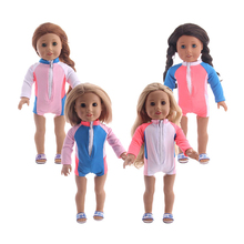 18-inch Doll Clothes-My Little Baby Accessories Fit 18/Life/Generation Doll-cute Toys Outfit Girls Best Gifts