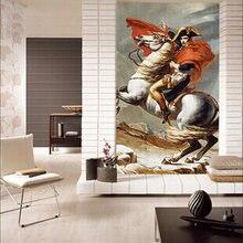 Горячая декоративная картина Фреска для коридора Наполеон Современный