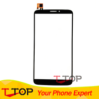 Testing For Alcatel One Touch Hero 8020 8020D OT8020 Touch Screen Digitizer Black Color 1PC Lot