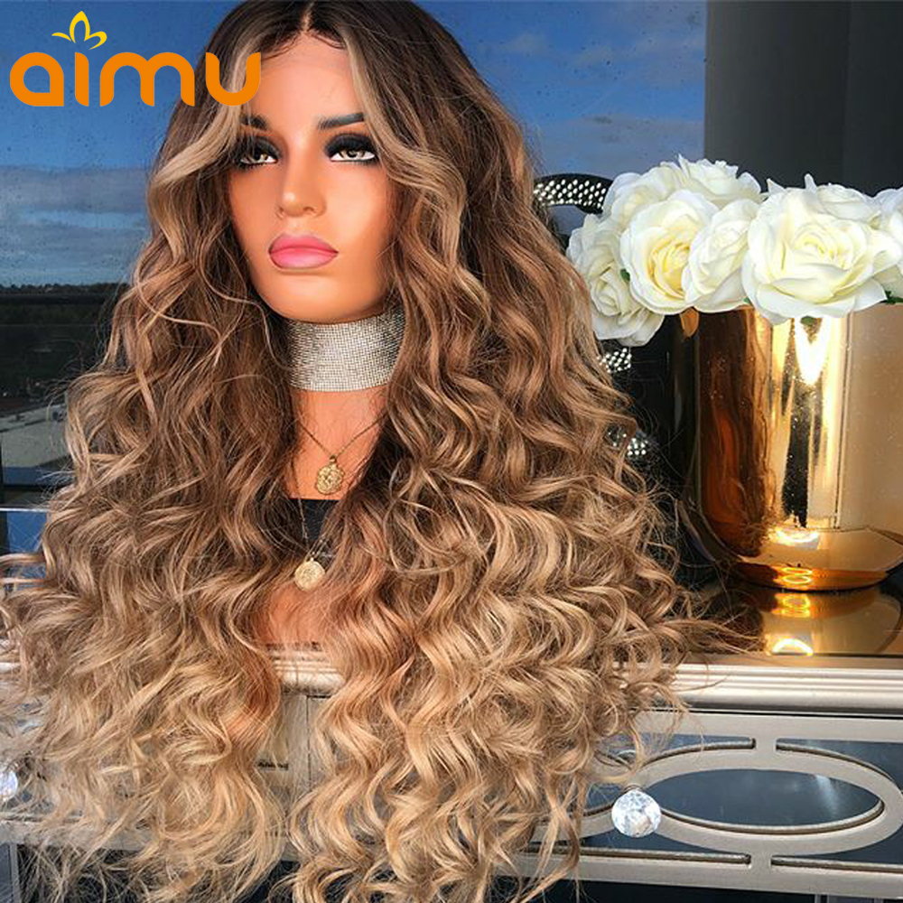Honey Blonde Lace Front Human Hair Wigs For Black Women 4 27 Colored Human Hair Wigs