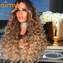 Mel loira lace frente cabelo humano perucas para mulheres negras 4/27 colorido perucas de cabelo humano 13x6 parte profunda marrom renda frente perucas
