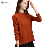 New Women Sweater Pullover Big Yard Loose Elastic Knitted Cashmere Sweaters Female Spring Autumn Knitwear Lady