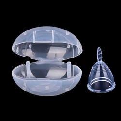 Женские многоразовые Медицинские силиконовые менструальные чашки гигиенический продукт женские девочки моющиеся менструации здоровье