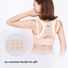 Women Adjustable Back Posture Corrector Clavicle Spine Back