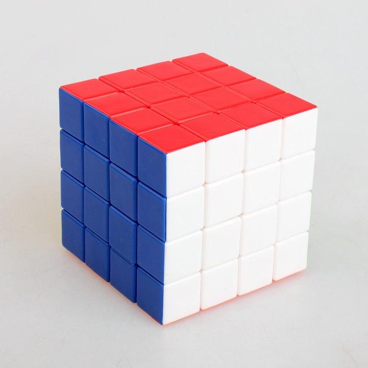 DIANSHENG Magic Cube 4*4*4 Plastic Magic Cube Professional Competition Super Smoothness 4 Magic Cube(60mm)