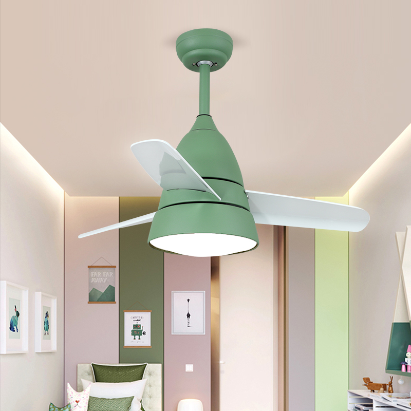 220V Ceiling Fan Light Energy Saving and Environmental Protection Lamp 24W Ceiling Fan Living Room Tricolor Ceiling Light in Ceiling Fans from Lights Lighting