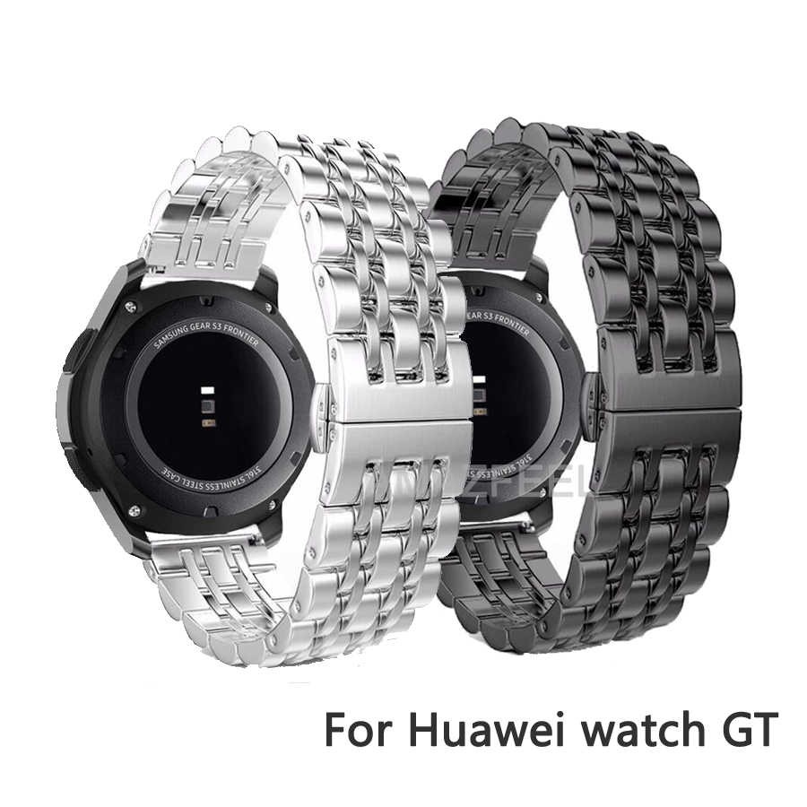 Watchband for Huawei Honor GT Strap Bracelet Metal Stainless Steel Huawei Watch gt Active Honor Magic Wrist Strap Belt 20/22mm