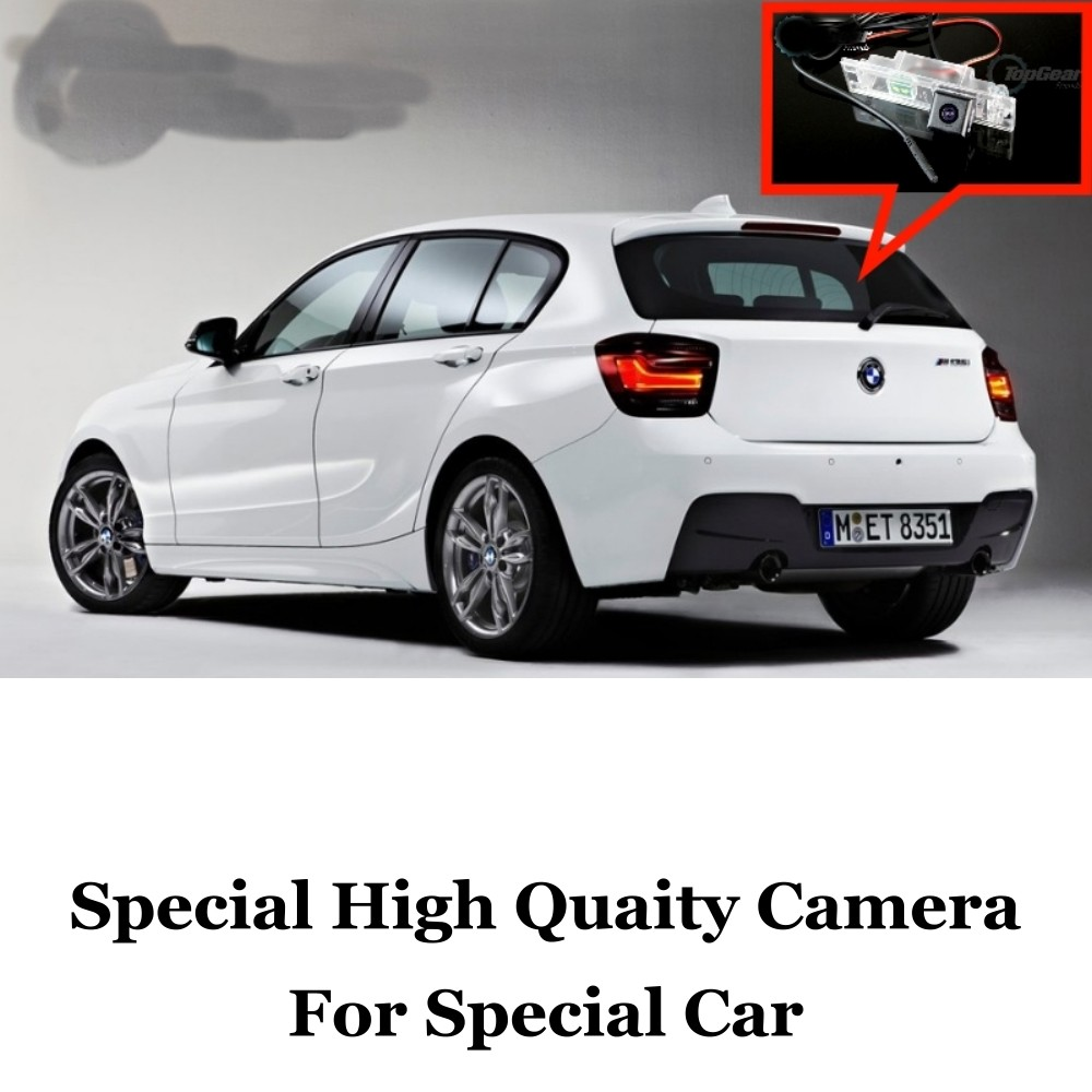 Car Camera For BMW 1 M1 F20 F21 2011~2015 High Quality Rear View Back Up Camera For Friends to Use  CCD With RCA car