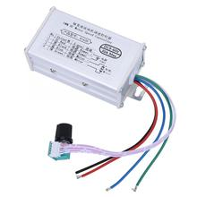 30A PWM DC Brush Motor Speed Controller Adjustable Electric Motor Speed Regulator DC 9-60V brushless motor controller for dc12v 30a high power brushless motor speed controller dc 3 phase regulator pwm