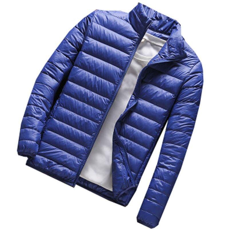 MFERLIER zima jesień mężczyźni kurtki 5XL 6XL 7XL 8XL 9XL duży rozmiar na co dzień z długim rękawem kurtki 5 kolory w Parki od Odzież męska na AliExpress - 11.11_Double 11Singles' Day 1