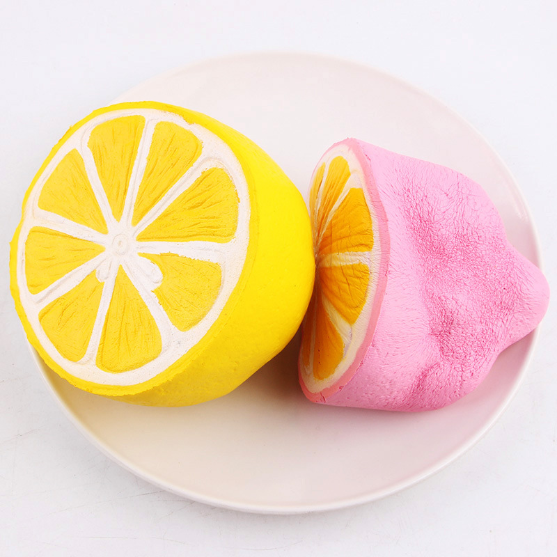 1PC Cute Squishy Toys 12cm Kids Jumbo Scented Squeeze Slow Rising Fun Toy Relieve Stress Cure Lemon Gift With Retail Package #CS