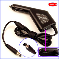19.5V 4.62A 90W Laptop Car DC Adapter Charger + USB(5V 2A) for Dell Vostro V13 1014 1015 1088 1220 1320 1400 1420
