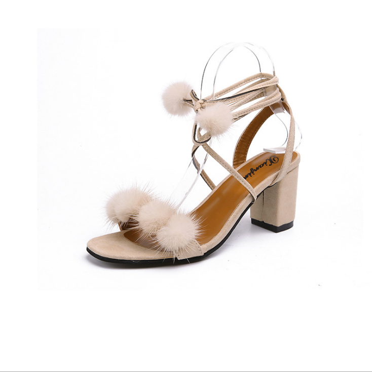 2018 New Fashion Summer Sandals Woman High Heels Dress Pumps Soft Women  Shoes Super Cute Girls 45736775ab94