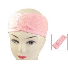 Новейшие Розовый Гидромассажная Ванна Душ Макияж Мыть Лицо Косметические Головная Повязка Для Волос Группа