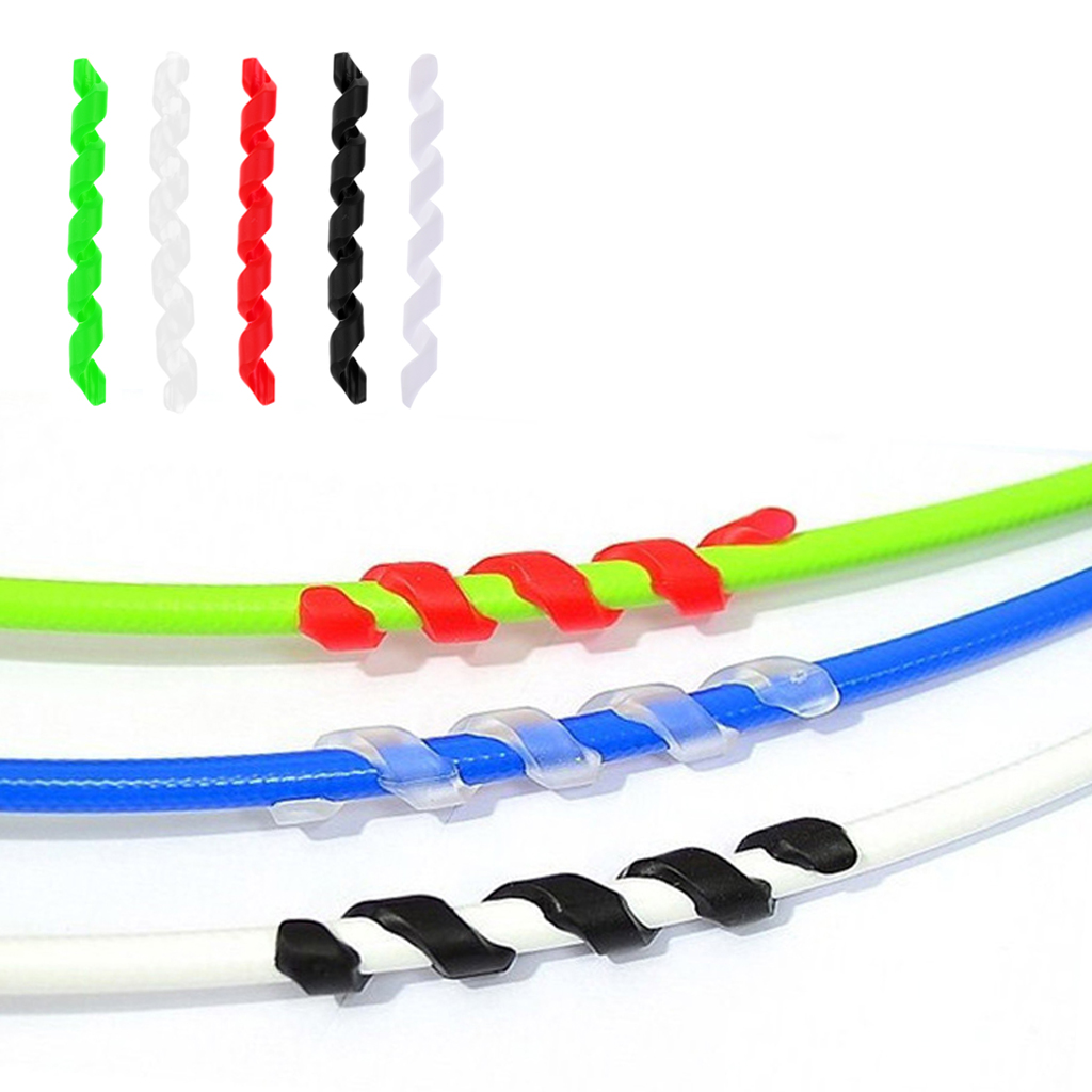 5 шт. Велосипедный тормозной трос, защитный резиновый антифрикционный велосипедный каркас, защита линии тормозной трубы, защитная крышка