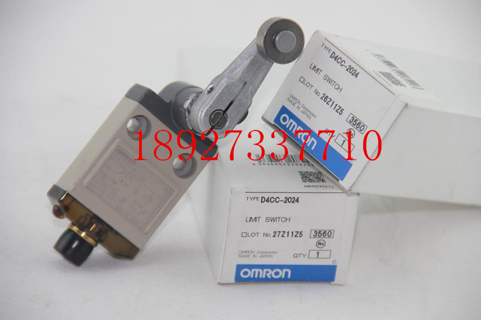 [ZOB] New original OMRON Omron limit switch D4CC-2024 [zob] 100% brand new original authentic omron omron limit switch d4e 1d10n