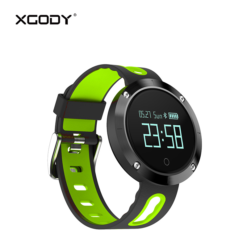 XGODY DM58 Waterproof Smart Watch Men iOS Android Connectivity Pedometer Heart Rate Monitor Montre Connecte iPhone Smartwatch