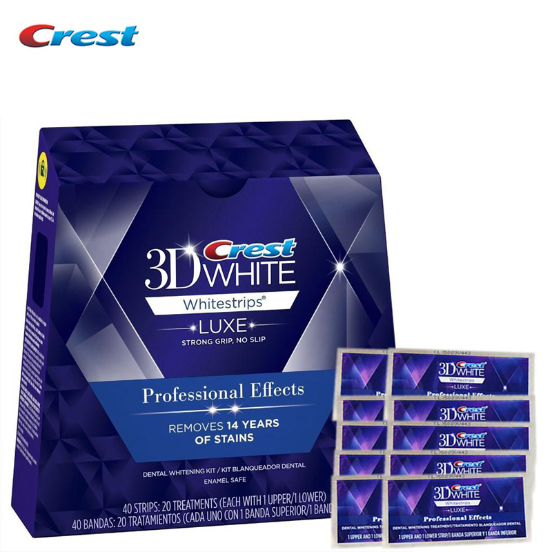 3D White LUXE Professional Effect Oral Hygiene Tooth Teeth Whitening Whitestrips Dental Care