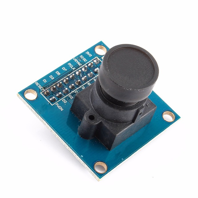 Hot OV7670 VGA Camera Module Lens CMOS 640X480 SCCB W/I2C Interface For Arduino Auto Exposure Control Display Active