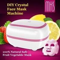 2018 New High Quality MKS CRYSTAL Face Mask Machine 100 Natural DIY Fruit Vegetable Mask Facial