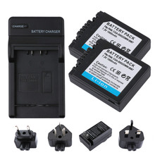 RP1000mAh CGA-S002 CGAS002 CGA S002 Camera Battery+ LCD Battery Charger For Panasonic DMC-FZ1 DMC-FZ10 DMC-FZ10EG-K DMC-FZ3B L20