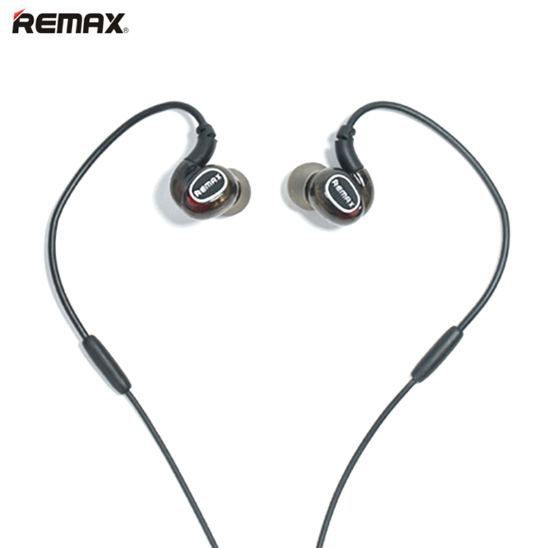 Original REMAX S1PRO sport earphone wire control Stereo Music Earphones for iphone 6 for Samsung galaxy s6 s7 Xiaomi smartphone remax bluetooth v4 1 wireless stereo foldable handsfree music earphone for iphone 7 8 samsung galaxy rb 200hb