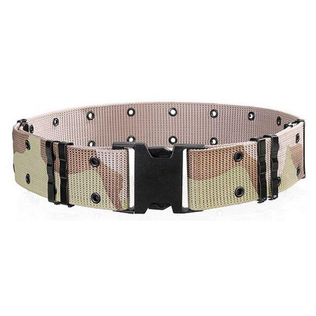Fashion Mans Military Style Tactical Quick Release Nylon Pistol Web Belt  Top Quality Insert Buckle Waist Straps Ceinture 130cm a76d8fd9c64